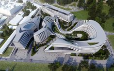 Beko Masterplan © Zaha Hadid Architects