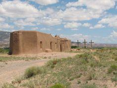 Penitente Church in Abiquiu, New Mexico
