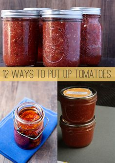 12 Ways to Put Up Tomatoes - Savvy Eats