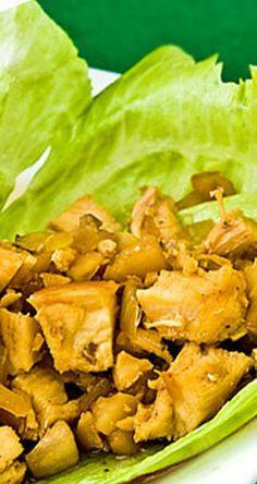 Chicken Lettuce Wraps | gimmesomeoven.com