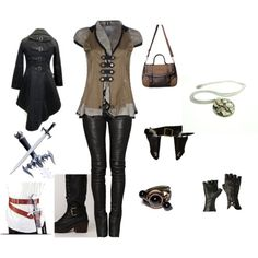 Assassins Creed inspired wardrobe