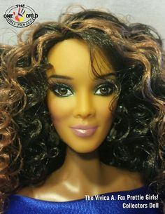 Black Doll Collecting: Vivica A. Fox Prettie Girls! Collectors Doll