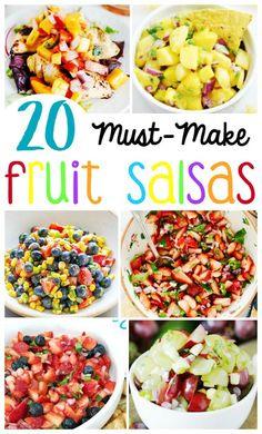 The 20 BEST Fruit Salsa Recipes   Fruit Salsa   Pineapple Salsa   Strawberry Salsa   Grape Salsa   Jicama Salsa   Blueberry Salsa   Mango Salsa   Healthy Salsa   Sweet Salsa