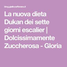 La nuova dieta Dukan dei sette giorni escalier | Dolcissimamente Zuccherosa - Gloria