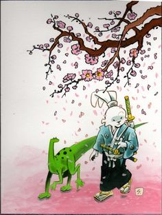 Usagi Yojimbo - Stan Sakai's second drawing of 2012