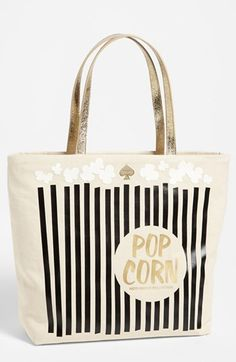 kate spade new york 'daycation' coated canvas bon shopper available at #Nordstrom