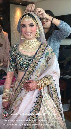 Indian Bridal Outfits, Indian Bridal Wear, Asian Bridal, Bridal Dresses, Indian Fashion Trends, Indian Fashion Dresses, Indian Designer Outfits, Pakistani Dresses, Wedding Lehenga Designs
