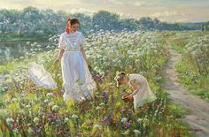Russian Realism Paintings | Alexander Averin, 1952