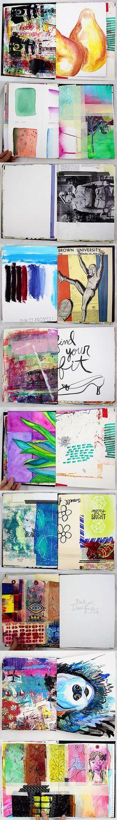 Balzer Designs Art Journal Junque Journal