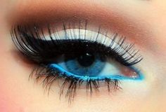 Stick to the basic black or experiment with a dark blue mascara shade for your blue eyes. Description from fashionsupdate.net. I searched for this on bing.com/images
