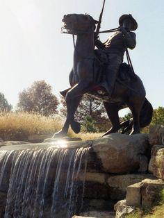 Buffalo Soldiers Memorial, Ft. Leavenworth, Kansas; October 1993