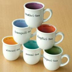 All different teas... Moriar-tea!