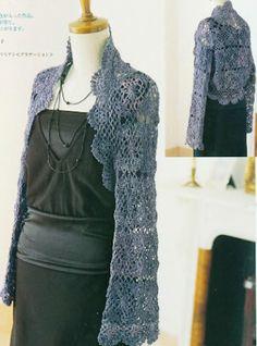  How to crochet : Crochet Patterns  for  Easy crochet bolero pattern...