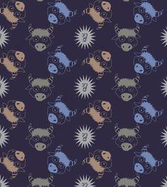 colorful-bull-pattern-illustration