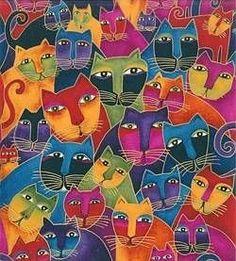 Fabulous-Felines.      Laurel Burch