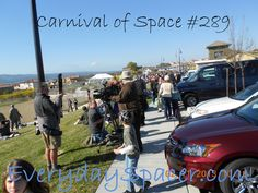 Carnival of Space #289 on EverydaySpacer.com    This week's roundup of articles takes us from inside NASA to Mars and beyond.  Let's see what our gang is up to…