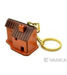 Country House Leather Keychain(L)