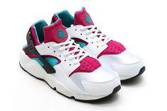 4c25dc6db108 Nike Air Huarache (Radiant Emerald Sport Fuchsia) - Sneaker Freaker