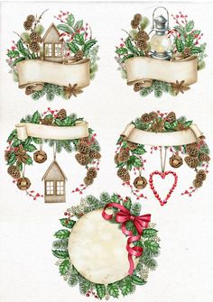 35 Festive Christmas Wall Decor Ideas that will Instantly Get You into the Holiday Spirit - The Trending House Winter Clipart, Christmas Clipart, Christmas Images, Christmas Printables, Christmas Art, Vintage Christmas, Christmas Ornaments, Christmas Mantles, Victorian Christmas