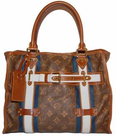 Louis Vuitton Rayures Tote  http://www.consignofthetimes.com/product_details.asp?galleryid=4771