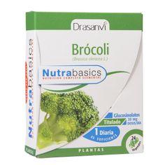 Las cápsulas de Brócoli de Drasanvi, incorporan en su composición 500 mg de extracto seco 20:1. Esto equivale a 10.000mg de pulverizada. Rigurosos métodos analíticos han permitido estandarizar nuestras cápsulas en Glucosinolatos, aportando 20mg por dosis diaria.