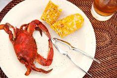 Boiled crab - Cavan Images