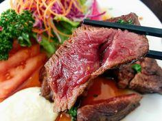 山恵(さんけい)【鷹栖町】◆鹿肉専門店の柔らかランプ肉ステーキ!