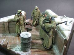 Leningrad front, 1943 | Dioramas and Vignettes | Gallery on Diorama.ru