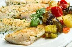 Dos de cabillaud et ses légumes (Thermomix)
