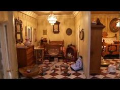 Museo casas de muñecas de Malaga. La colección. Casa de Cadiz - YouTube