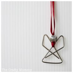 Paperclip angels...use as gift tags:)