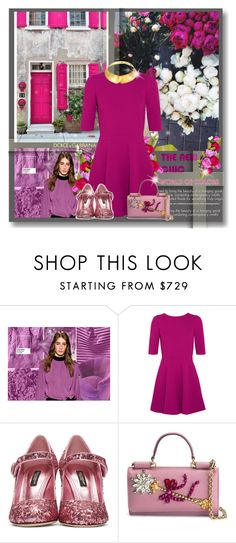 """""""Fall color inspiration: Dolce & Gabbana"""" by fashionlibra84 ❤ liked on Polyvore featuring Dolce&Gabbana and Alexa Starr"""
