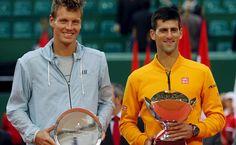 Novak Djokovic vence a Tomas Berdych 7-5, 4-6, 6-3. En la final de Monte Carlo.