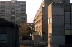 Council Estate, Concrete Jungle, Brutalist, Towers, Scotland, Multi Story Building, Architecture, Painting, Ideas