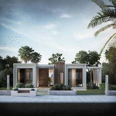 The Coast . on Behance You are in the right place about facade interior Here we offer you the most beautiful pictures about the facade sketch you are looking for. When you examine the The Coast . Best Modern House Design, Modern Villa Design, Small Modern Home, Minimalist House Design, Small House Design, Small Modern House Exterior, Contemporary Design, Modern House Facades, Modern Bungalow House