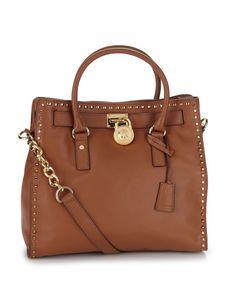 MICHAEL Michael Kors Hamilton Whip Tote Bag - Luggage