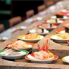 Conveyor belt Sushi – Chojiro, Kyoto