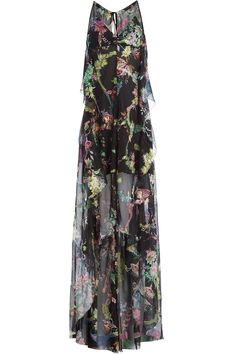 Etro - Silk Chiffon Maxi Dress