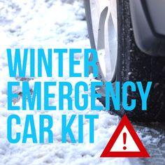 Prepare a Winter Emergency Car Kit