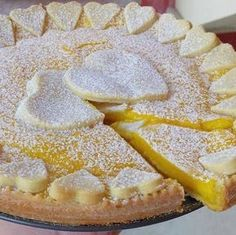 Crostata al Limone   Le ricette di petalina