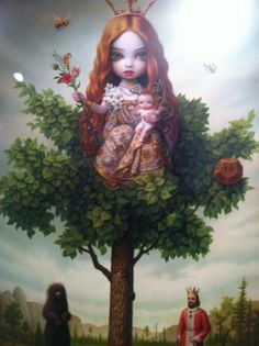 There she is again!.....Mark Ryden