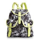 Material Girl Handbag, Acid Washed Backpack