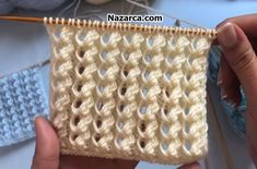 Crochet Patterns For Beginners, Baby Knitting Patterns, Lace Knitting, Knitting Stitches, Tunisian Crochet, Crochet Motif, Crochet Yarn, Macrame Headband, Crocodile Stitch