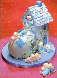 Baby shower cake, or for multiples!!~ :)