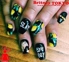Get in formation: The best way to pay tribute to Beyonce's Lemonade? With lemon nail art, of course