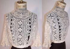 Bobbin Lace - Edwardian blouse
