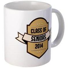 Seniors Class of 2014 Badge Mugs
