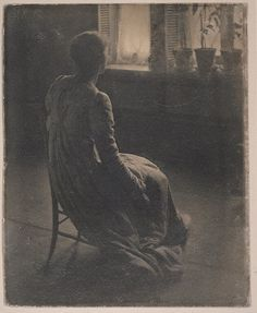 Clarence H. White, Evening - Interior, 1899.