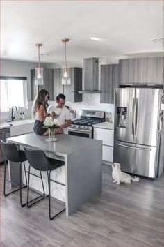 Kitchen Room Design, Modern Kitchen Design, Kitchen Layout, Home Decor Kitchen, Interior Design Kitchen, Kitchen Furniture, New Kitchen, Home Kitchens, Kitchen Ideas