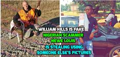 We warn about Scammers on Social Media. Romance for money. Most from West Africa. William Hill, Anthony William, Facebook Scams, Does He Love Me, John Ward, Unusual Names, Picture Of Doctor, Female Profile, He Loves Me